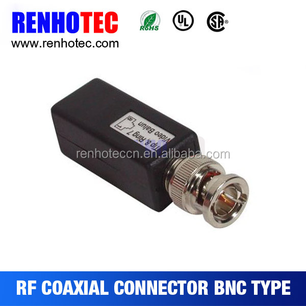 Factory Price BNC to RJ45 Balun Adapter Coverter