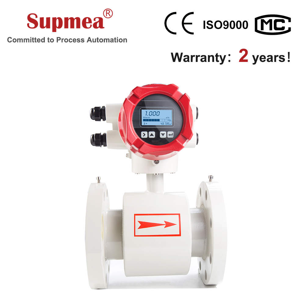 Factory direct high quality digital drinking water flow meter smart for industrial waste treatment