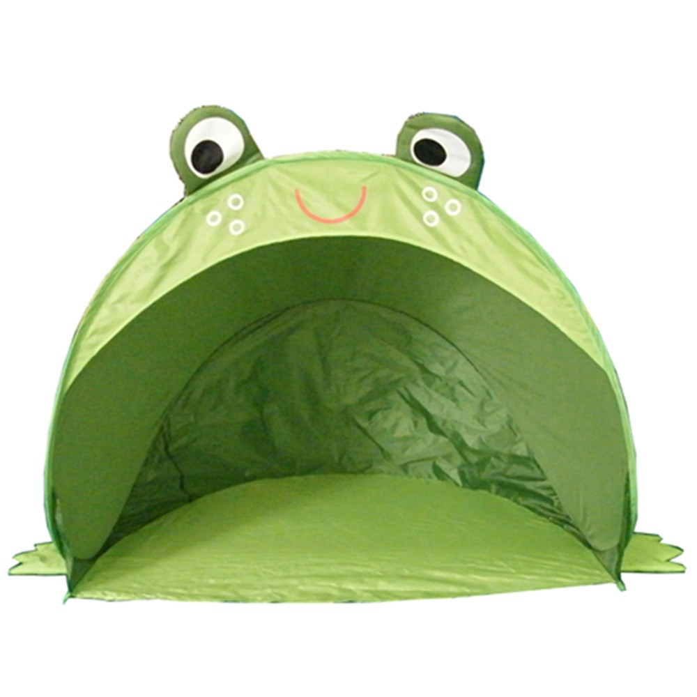 Frog shape kids beach play <strong>tent</strong> for baby beach playing