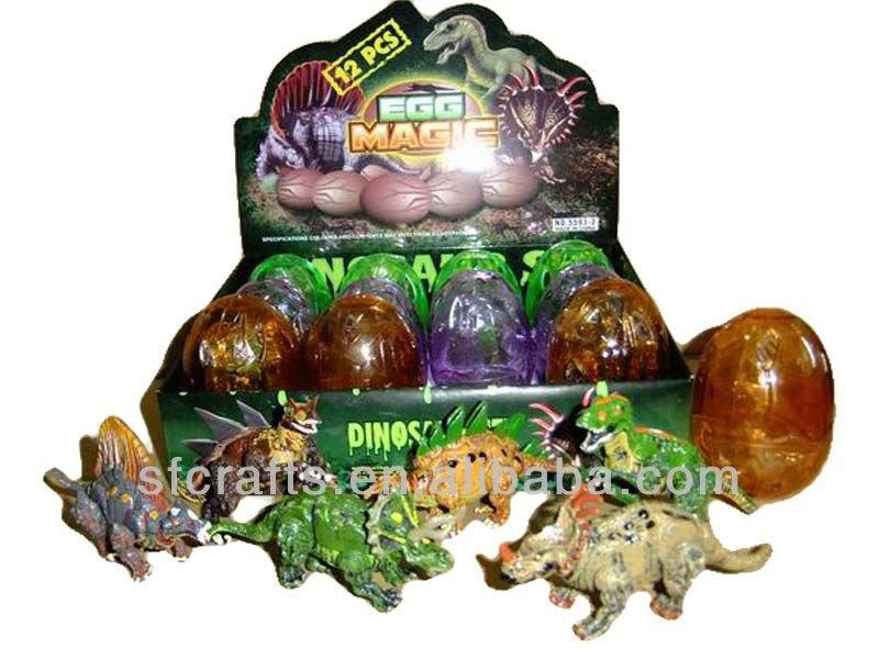 12 pcs magique dinosaur egg jouets dinosaure jouet chine fournisseur dor