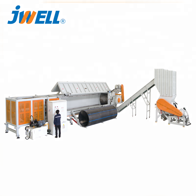 Jwell DYSSG Pijp Crusher en shredder Unit