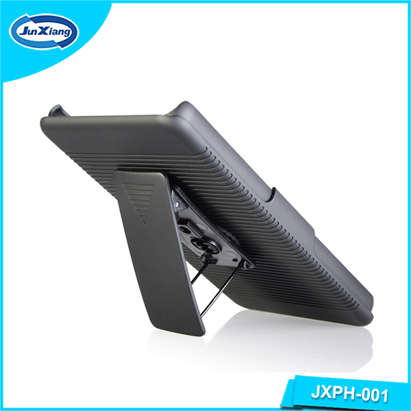 Hot sell belt clip case for sony ericsson for xperia with kickstand for sony z3 plus