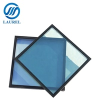 Tinted tempered insulated glass for curtain wall
