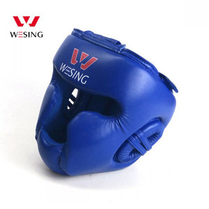 wesing sanda crossfit safety Head gear Guard Helmet protection head protector boxing sparring gear gym martial arts equipment
