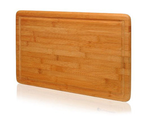 Extra Large Bamboo Cutting Board - 18x12 Thick Strong Bamboo Wood Cutting Board with Drip Groove