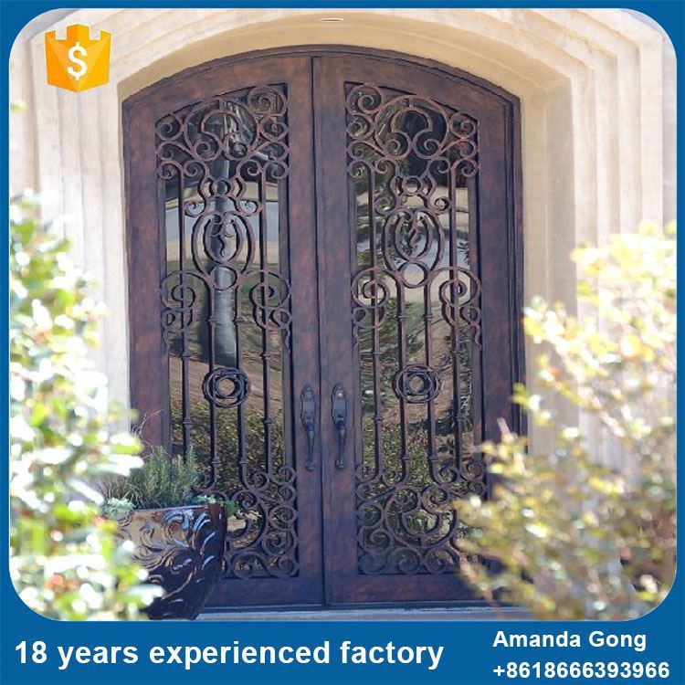 Reliable Quality Classical Arched Round Top Exterior Entry Door