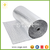 Bubble foil heat insulation material, bubble heat reflective material with adhesive glue