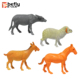 Shantou plastic sheep horse hollow farm animal toys supplier