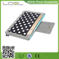 for Macbook felt case, canvas Protective Sleeve Bag for laptop