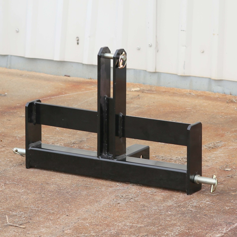 "Tractor Drawbar with Suitcase Weight Brackets | 2"" Receiver 
