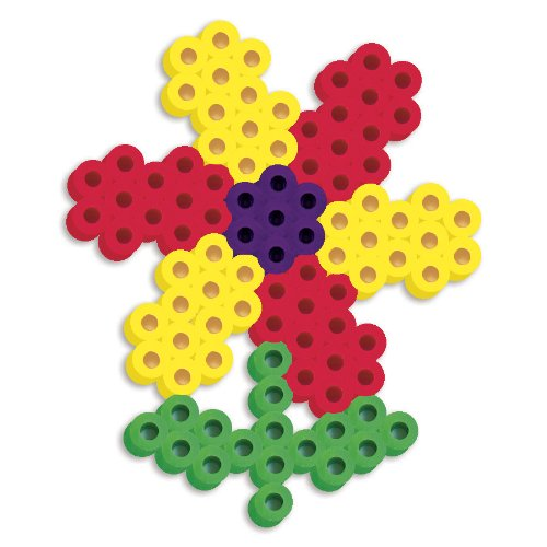 Perler Beads Silicone Pegboard Fused Bead Kit - Flower