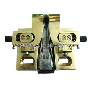 Attachment for twin needle sewing machine make cap twin needle folder tool