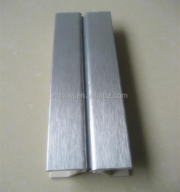Aluminio cepillado cocina gabinete z calo de pl stico cocinas identificaci n del producto - Zocalos de aluminio para cocinas ...