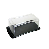 Most popular household plastic storage cheap cake slice boxes plastic cake box for bakery