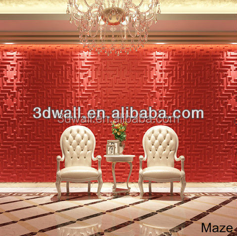 Green material home decor vinyl 3d wallpaper decorative wall paper for wall