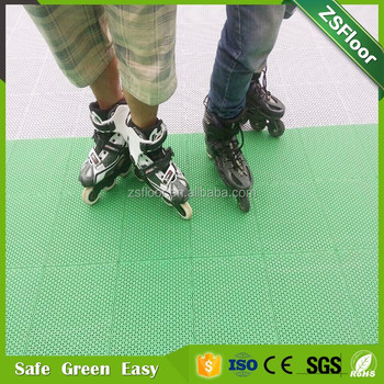 China Floor Synthetic Roller Skating Court Flooring Good Sale Buy - Roller skating rink flooring for sale