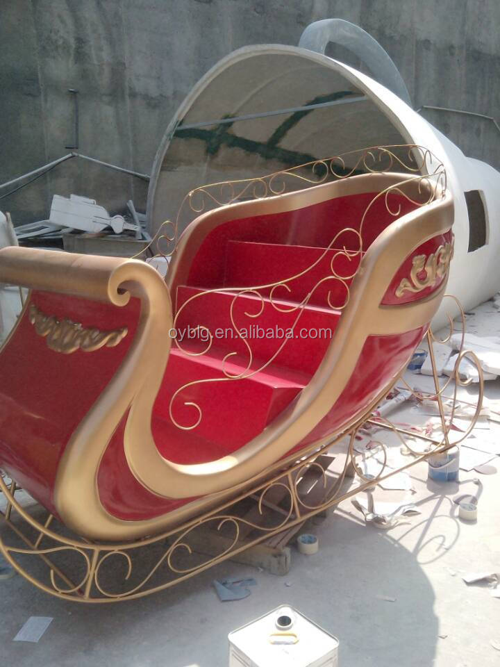 Outdoor Christmas Sleigh For Sale.Factory Handmade Fibreglass Christmas Santa Sleigh For Decoration Buy Decoration Santa Claus Sleigh Statue Life Size Fiberglass Sleigh Statues Santa