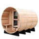 Pure canadian red cedar wooden room outdoor cabin barrel sauna for exports