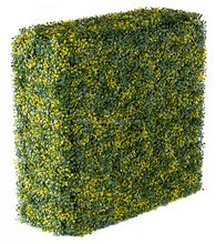 Arfificial boxwood hedge