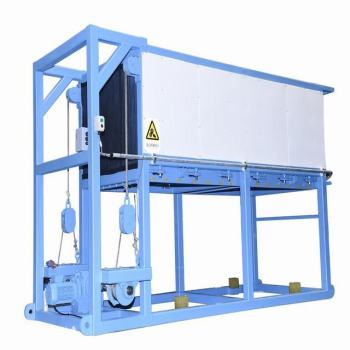 SNOWKEY Professional Direct Cooling Ice Block Making Machine Sold in Botswana