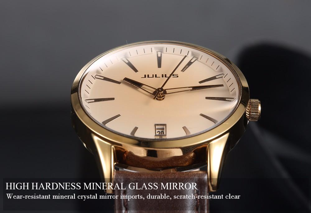 a9ec53b3df8602 2017 Famous JULIUS Brand Women Lady Fashion Casual Quartz Watch Clock  Calendar Luxury Female Wristwatch montre femme reloj mujer - us360