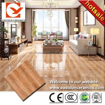 Superbe 2016 Brown Wooden Designs Glazed Full Polished Porcelain Floor Tiles For Living  Room