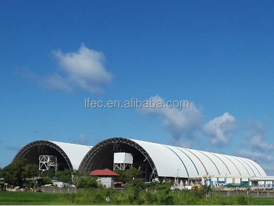 Prefab Large Span galvanized steel pipe for Steel frame Building