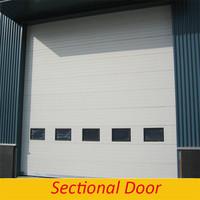 Factory Export Steel Garage Entry Sliding Transparent Garage Door