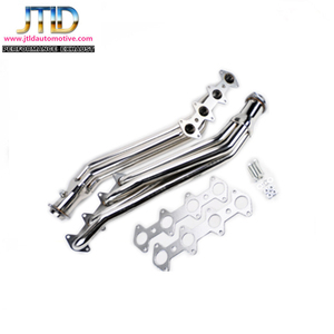 Stainless Steel Exhaust Manifold Exhaust Headers For V8 Long Tube