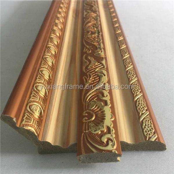 China White Color Ps Polystyrene Interior Cornice Moulding ...