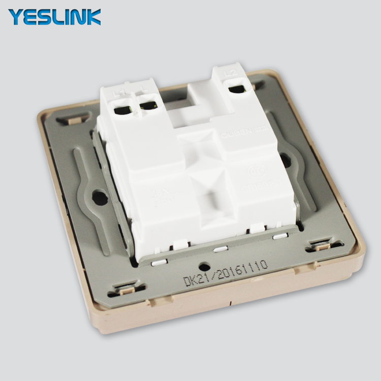 New Model Electrical Light Control 2 Gang 2 Way Wall Switches Names ...