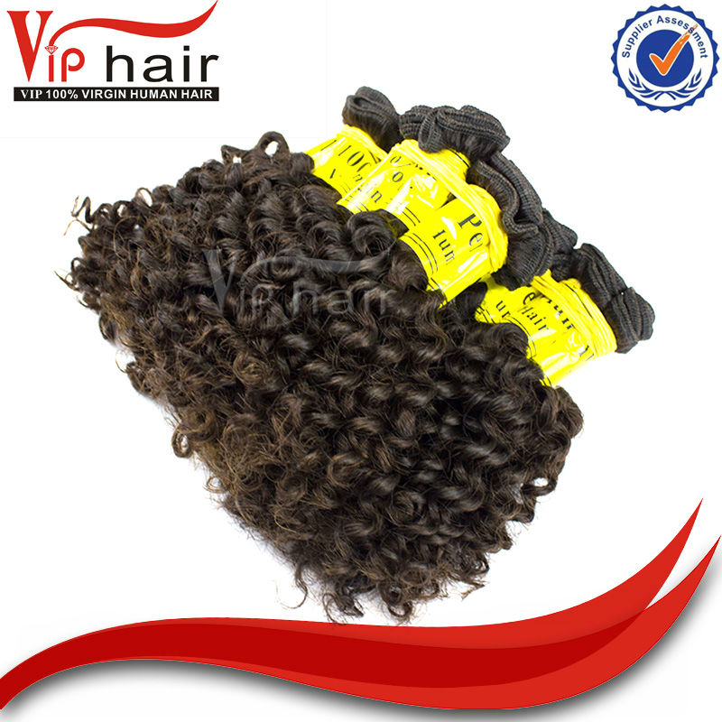 Trusted Provider Of Virgin Hair #1B Color 100g Curly Peruvian Hair