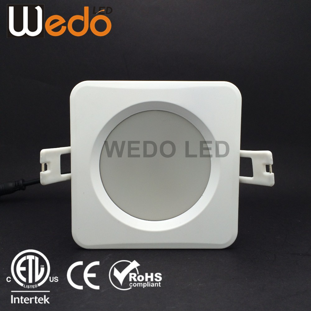 ETL dimmable 7w smd led downlight IP65