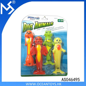 Summer New design under water game set hour fun dive animals sticks