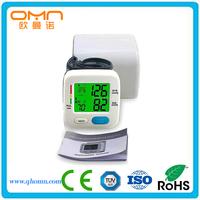 Wearable Electric Wireless Blood Pressure Monitor Digital Sphygmomanometer Medical Equipment Non Manual Measuring Meter Kits