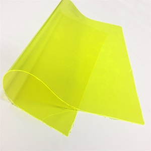 Flexible transparent color PVC cover plastic sheet/roll