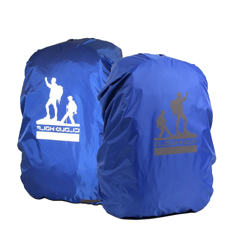 OEM wholesale outdoor reflective waterproof backpack rain cover