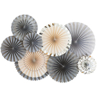 High quality party decorations backdrop wooden fans for wedding favors
