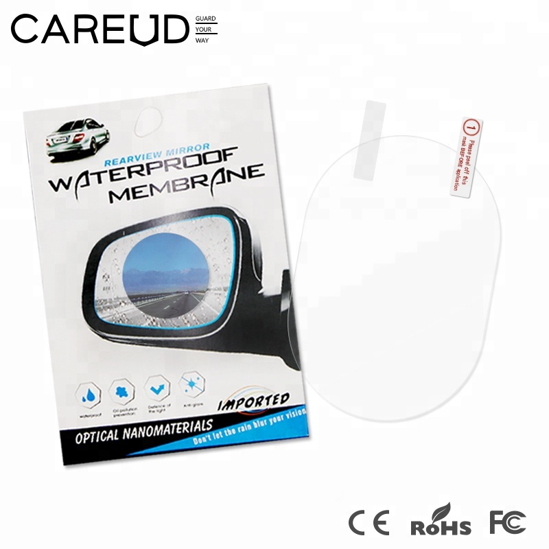 Anti fog Waterproof <strong>Membrane</strong> Film for car, Car rearview mirror Waterproof <strong>Membrane</strong>, rainproof sticker for car