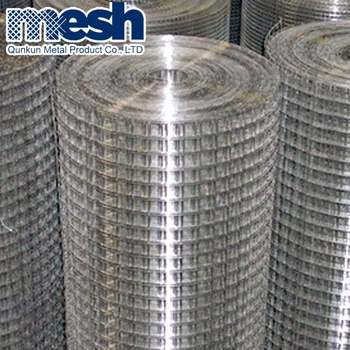 China Alibaba factory direct sale hot dipped galvanized welded wire mesh of anping