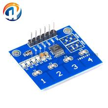 TTP224 4-way Switch Touch Sensor Capacitive Touch Sensor Module