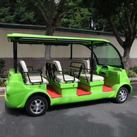 8 Seats City Resort Electric Sightseeing Car for Tourist with CE certification