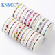 Beautiful color printed japanese paper washi tape for hand DIY crafwork use