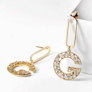 New products 2019 silver 925 or 18K gold filled jewelry hoop earrings