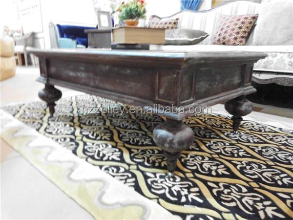 Chinese oude stijl retro antieke reproductie woonkamer meubels set groothandel houten salontafel - Meubels set woonkamer eetkamer ...