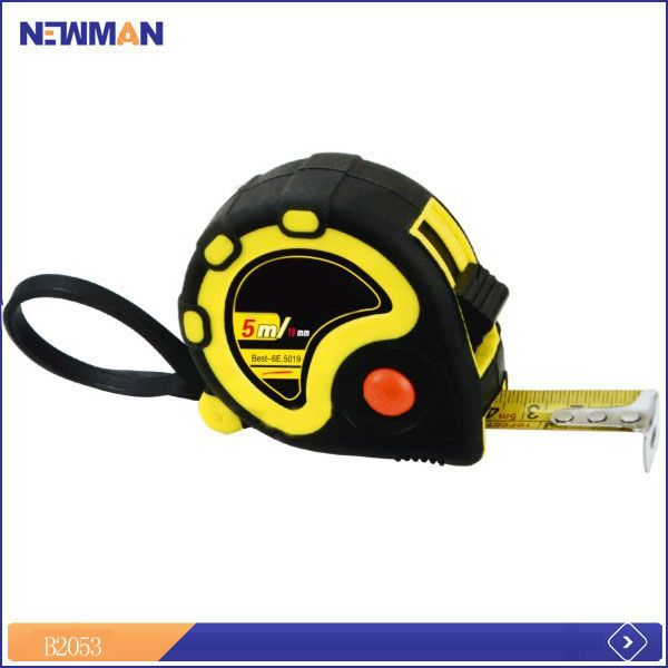very high precision double blist card packed mini tape measure with note pad