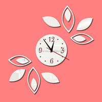 office decoration themes 3d wall clocks acrylic sheet decoration mirror