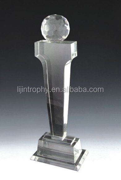 Good Quality Customized Yiwu Crystal Trophy Export