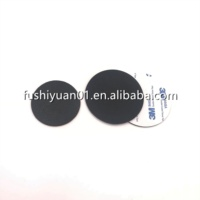 Flat Round Rubber Pads with - Adhesive Backing antislip heat resistant circle Sticky Rubber Foot Pad