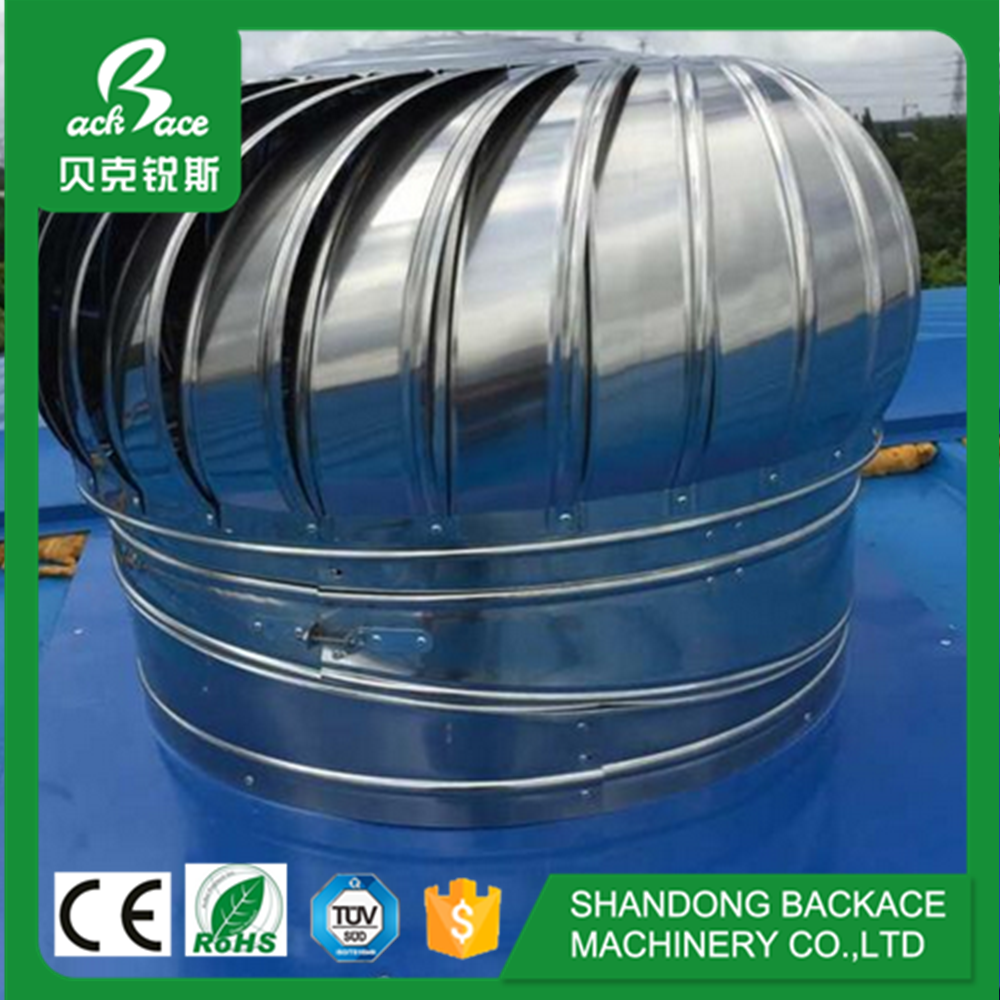 400mm industrial poultry equipment no power roof top ventilation fan